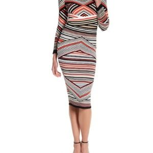 NEW Romeo and Juliet Couture striped mixed skirt